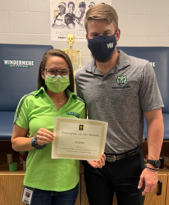 Preceptor of the Month: April 2021