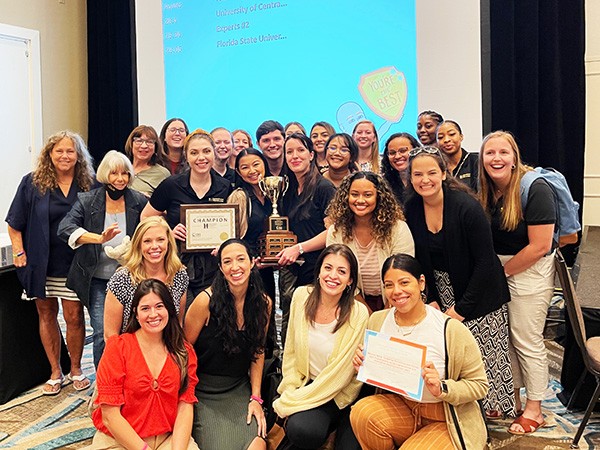 UCF CSD Program Shines at 2021 FLASHA Convention