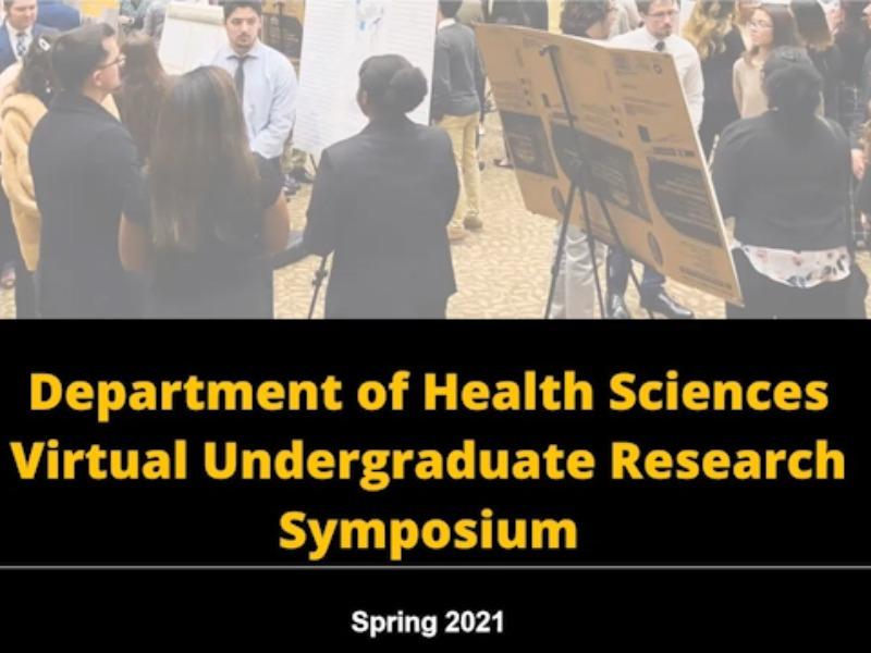 Health Sciences Students Compete in Undergraduate Research Symposium