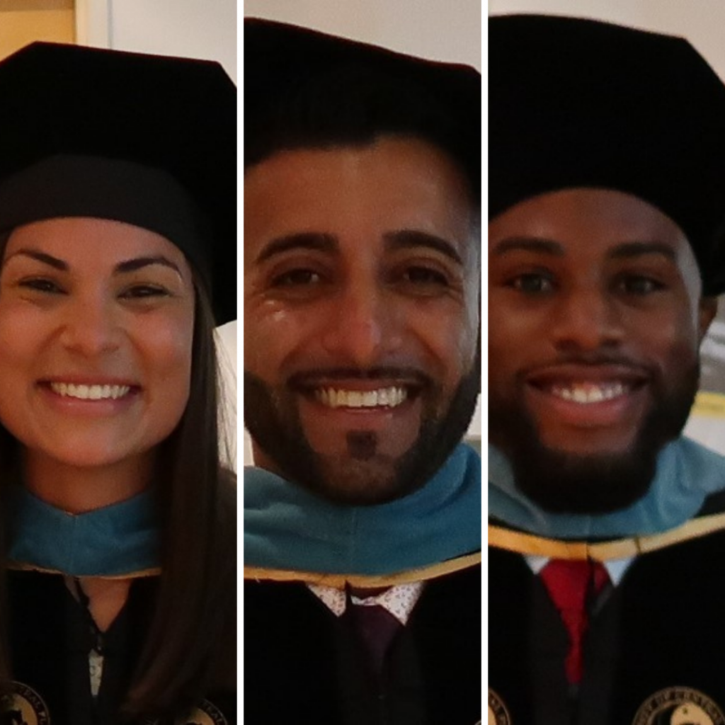 Three DPT Grads Accepted Into Residency Programs