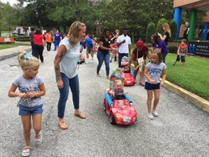 UCF, Orlando Health Team up to Help Children Vroom Vroom