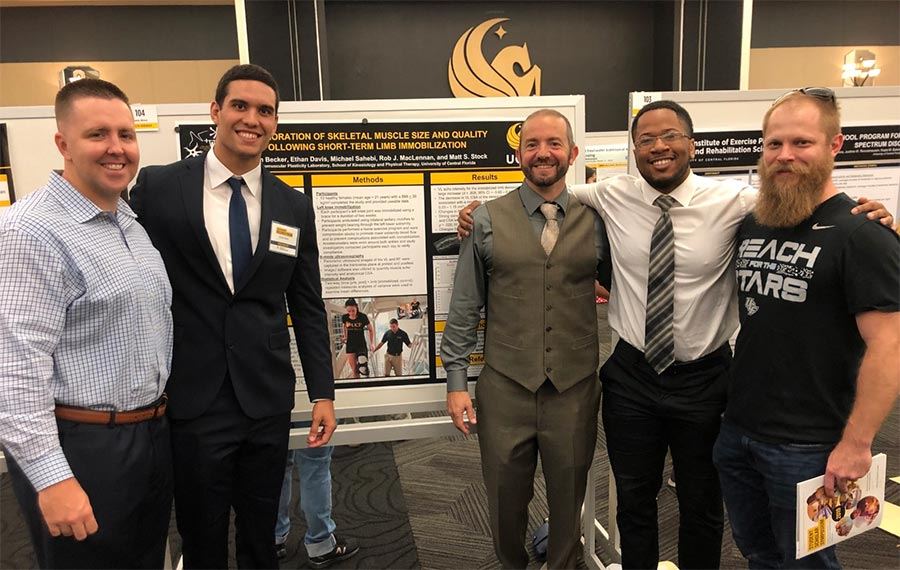Graduate students share their research at UCF Grad Forum!