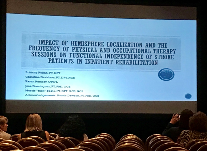 Neurologic Residents Present at the FPTA Annual Conference
