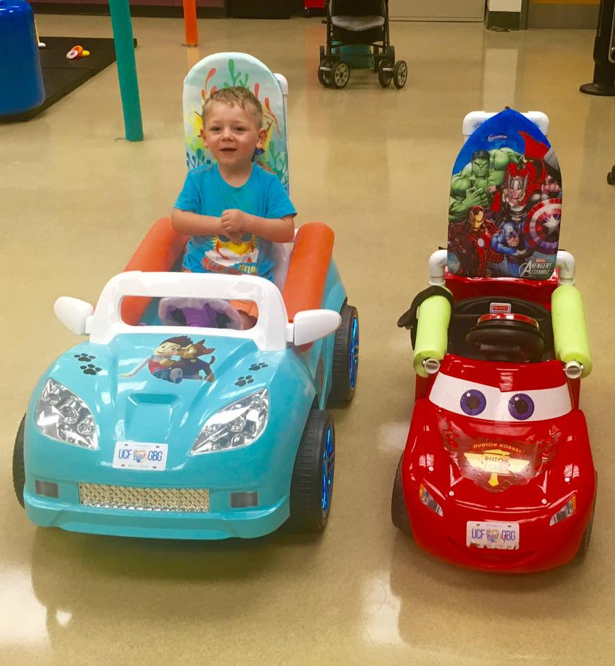 Go Baby Go! UCF program helps kids with limited mobility gain independence