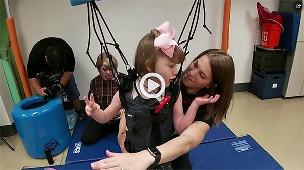 UCF harness system helping children with disabilities make strides