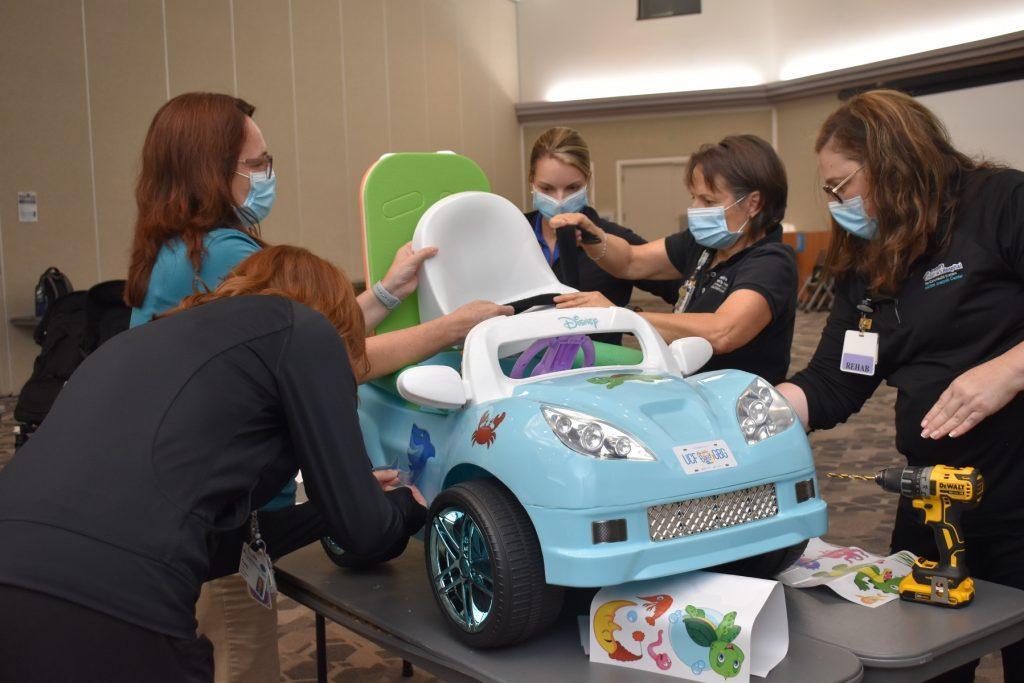 UCF Go Baby Go! Builds New Partnership with St. Joseph Children's Hospital