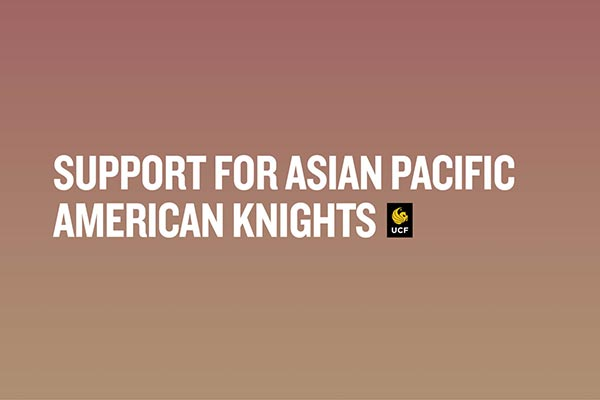Resources and Support for the Asian Pacific American Community at UCF