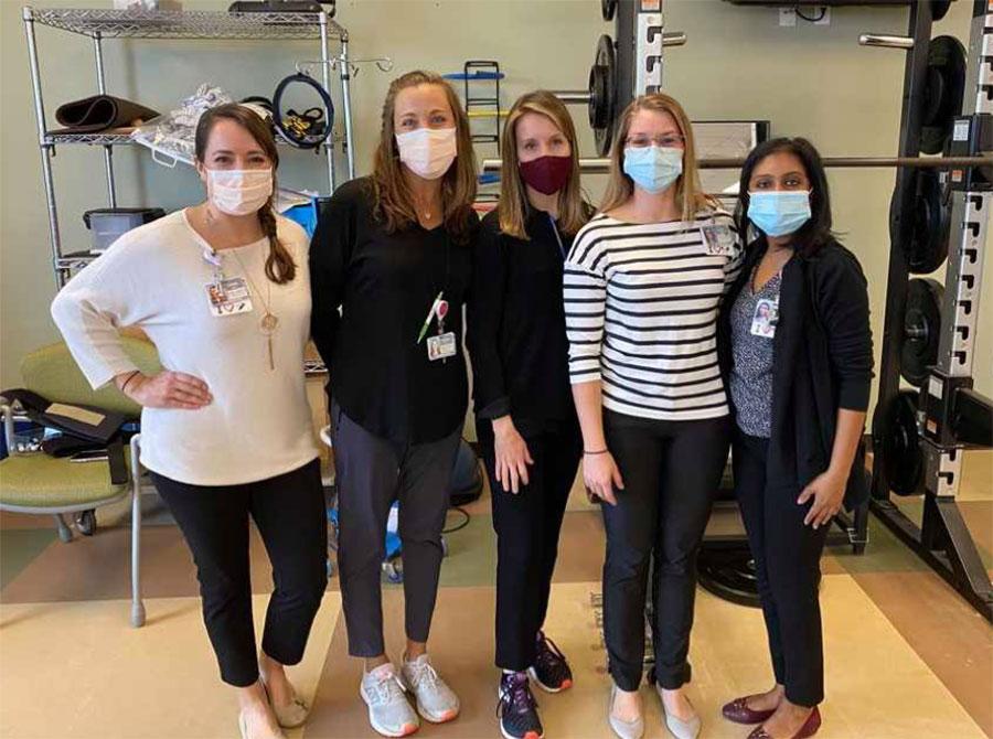 Neurologic PT Residents and Residency Faculty Screens Orlando Women's Soccer Team