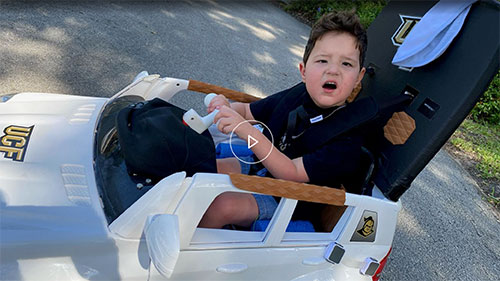 UCF program Go Baby Go helps special-needs children get mobile