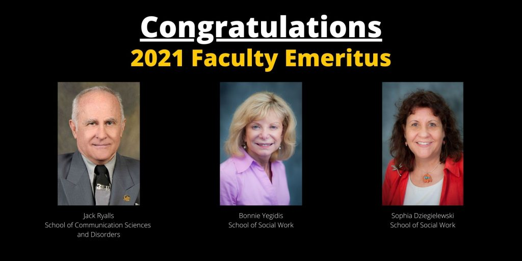 New Emeritus Faculty Honored