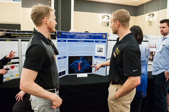 Nearly 20 Students Present Research Posters This Week