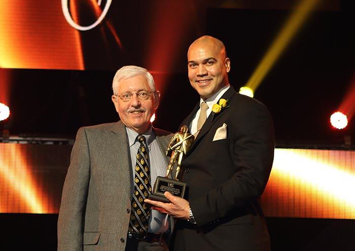 Alumnus Rousseau Receives 2015 Professional Achievement Award