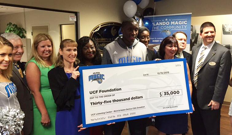 Victor Oladipo Donates $35K to UCF Listening Center
