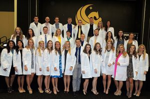 Physical Therapy Holds Class of 2017 White Coat Ceremony