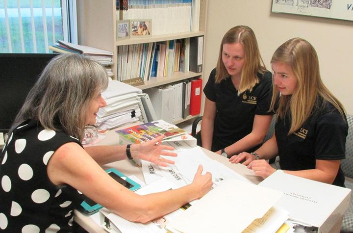 New Externship Brings Belgian Speech-Language Pathology Students to UCF