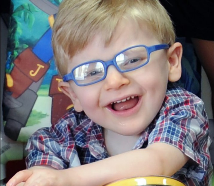 Keeping Up with Colin: Two Departments Collaborate for One Very Special Boy