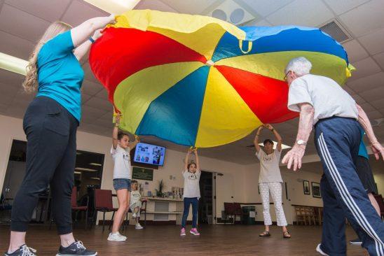 New UCF-Created Program Gets Seniors, Kids Exercising Together