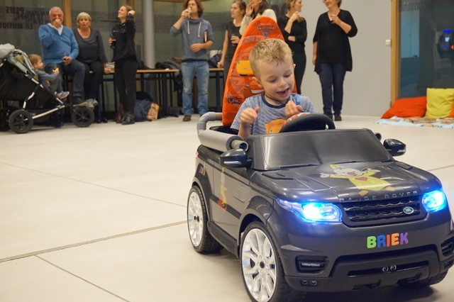 UCF Helps Launch Go Baby Go! in Belgium for Children with Limited Mobility