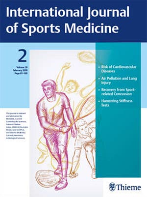 New research published in the International Journal of Sports Medicine