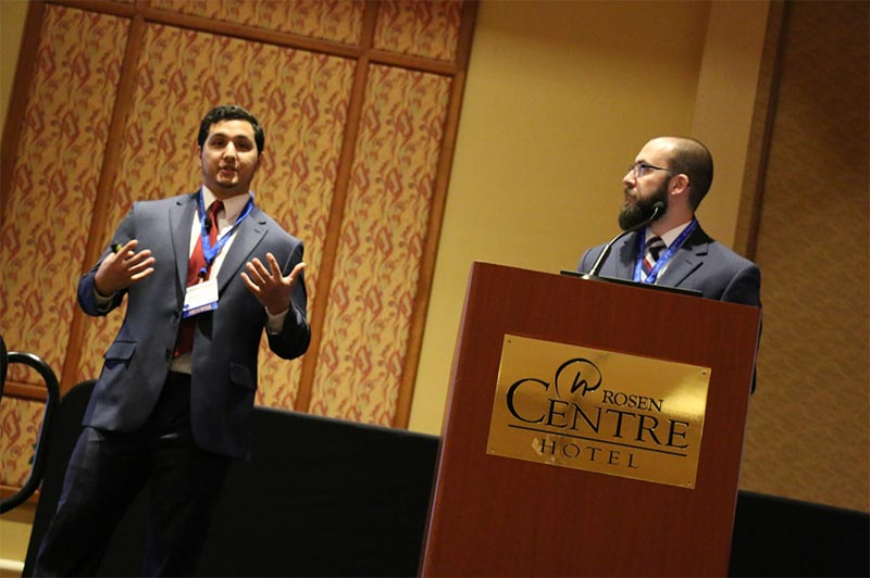 UCF DPT students present research at Orlando Orthopedic Center conference