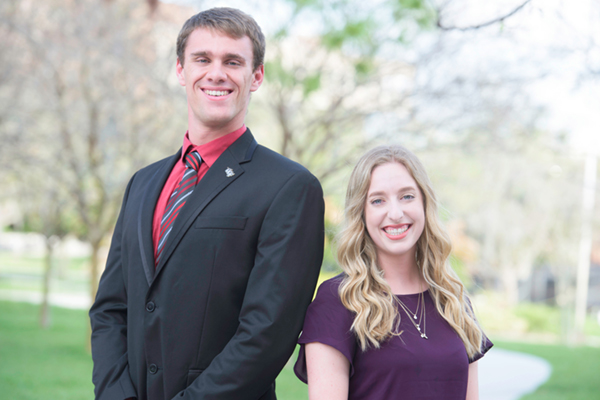Two Sport and Exercise Science Students Receive Order of Pegasus