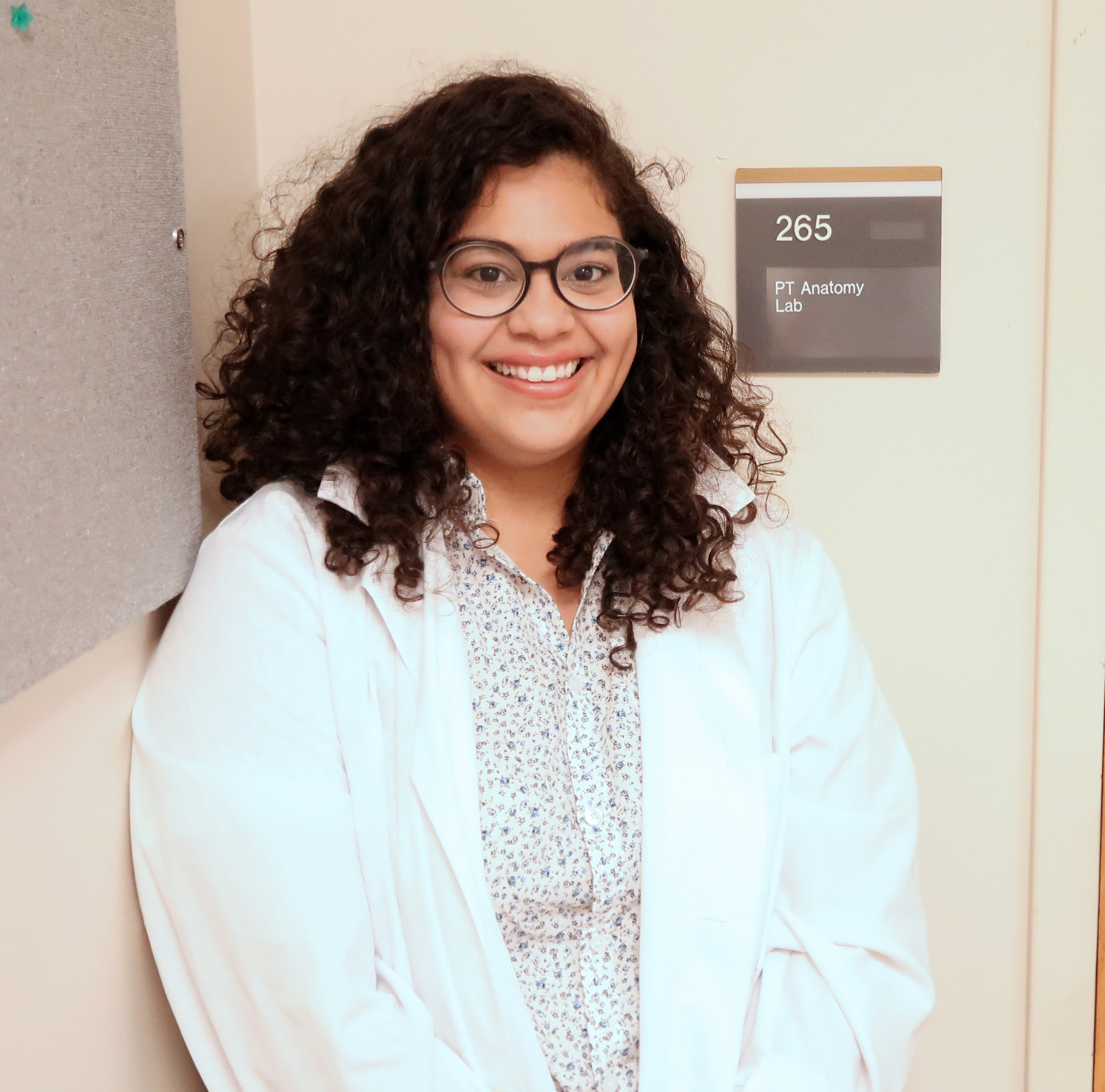 Student is First to Graduate from New Anatomical Sciences Program