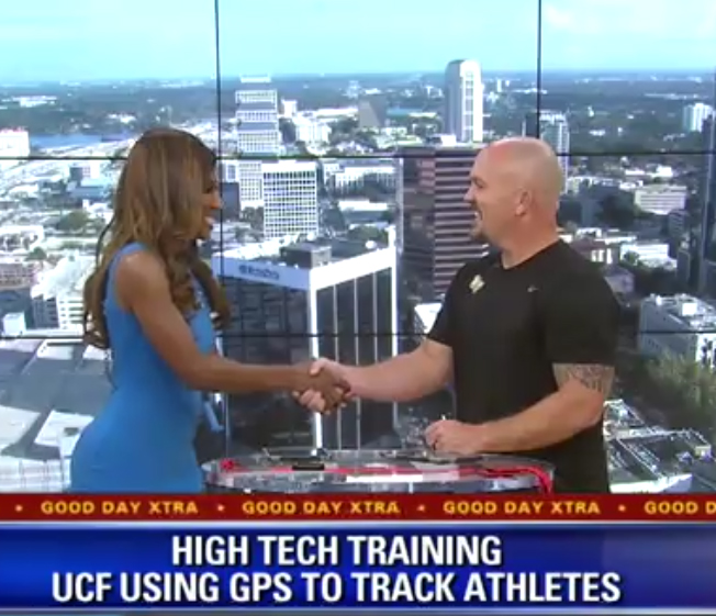 UCF Sports Scientist Says GPS Is Changing the Game