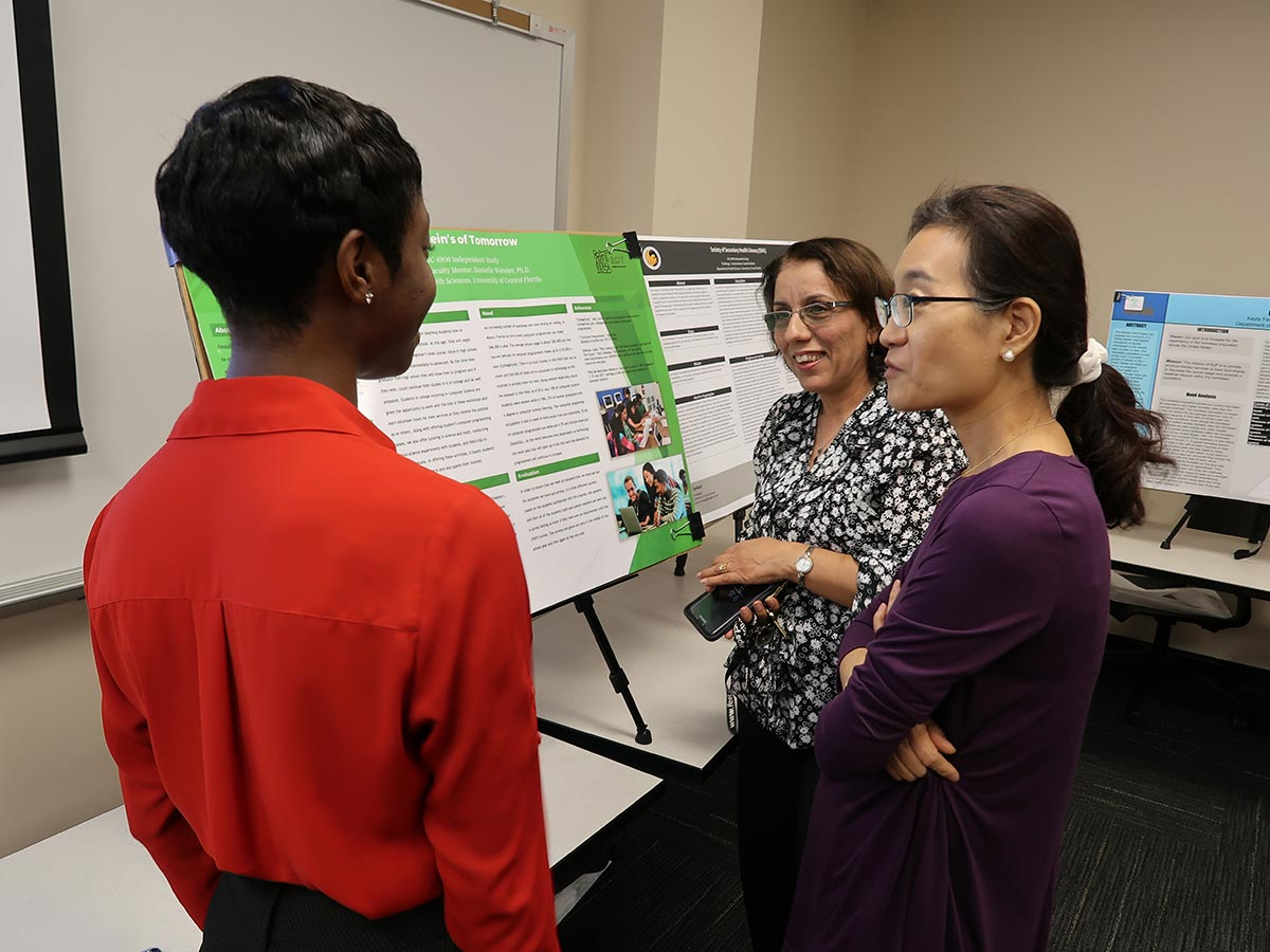 Health Sciences Places High Priority on Undergraduate Research