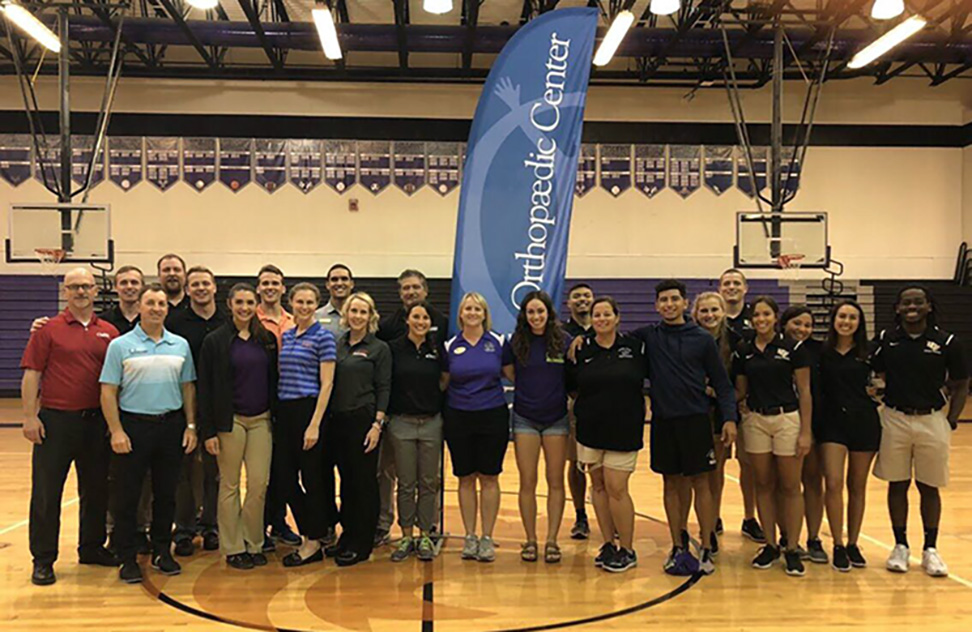 Athletic Training Students Give Back, Gain Skills With Community Partners