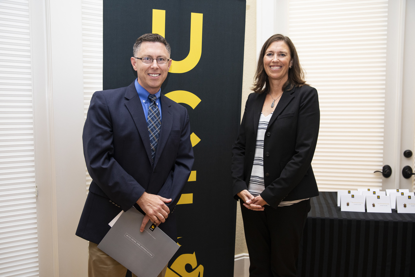 UCF Inducts Hanney into Scroll & Quill Society