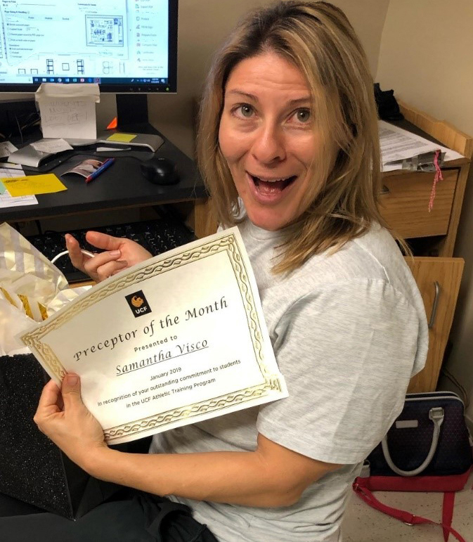Preceptor of the Month: Samantha Visco