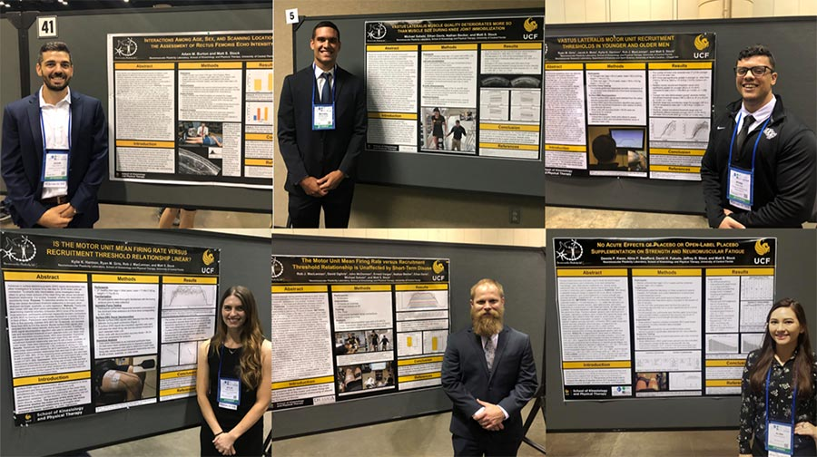 Six NPL students present research at ACSM!