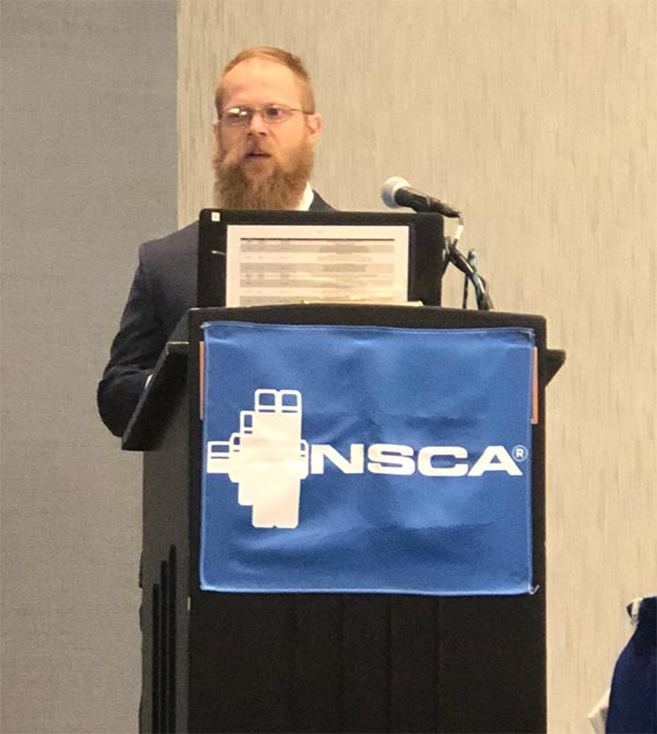 DPT, Kinesiology students present research at NSCA National Conference