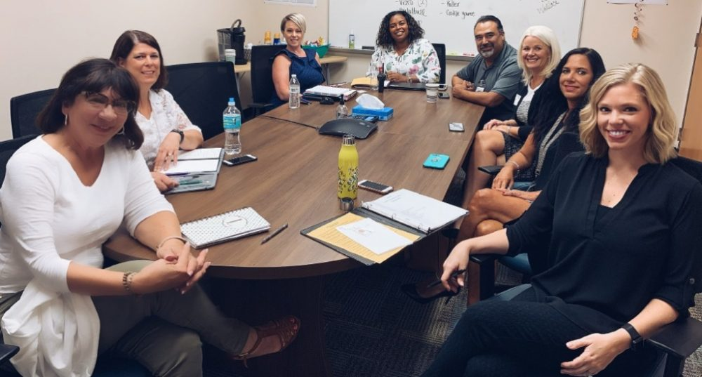 UCF educators meet with members of OCPS administration to discuss partnership with UCF Listening Center