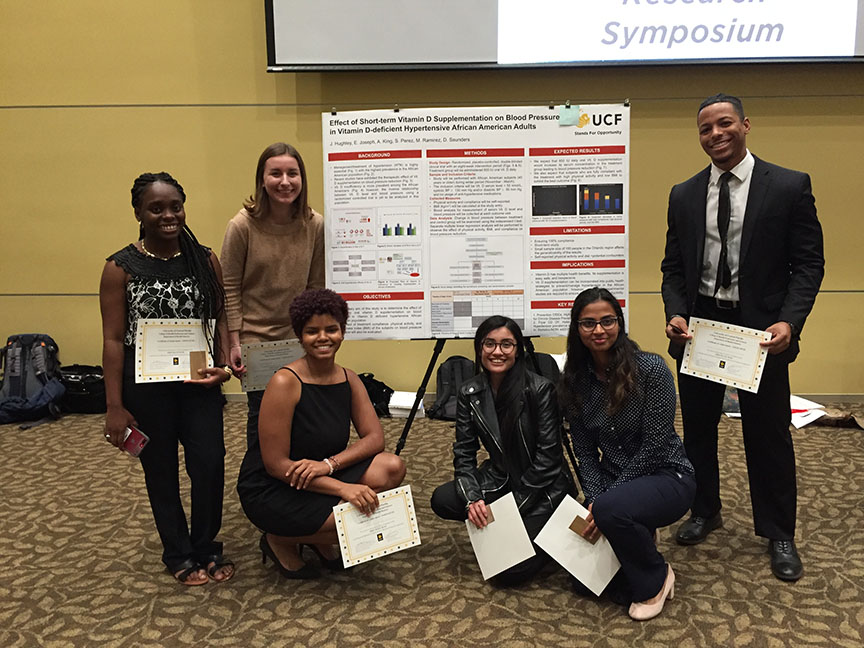 Health Sciences Undergraduate Students Get a Taste of Research