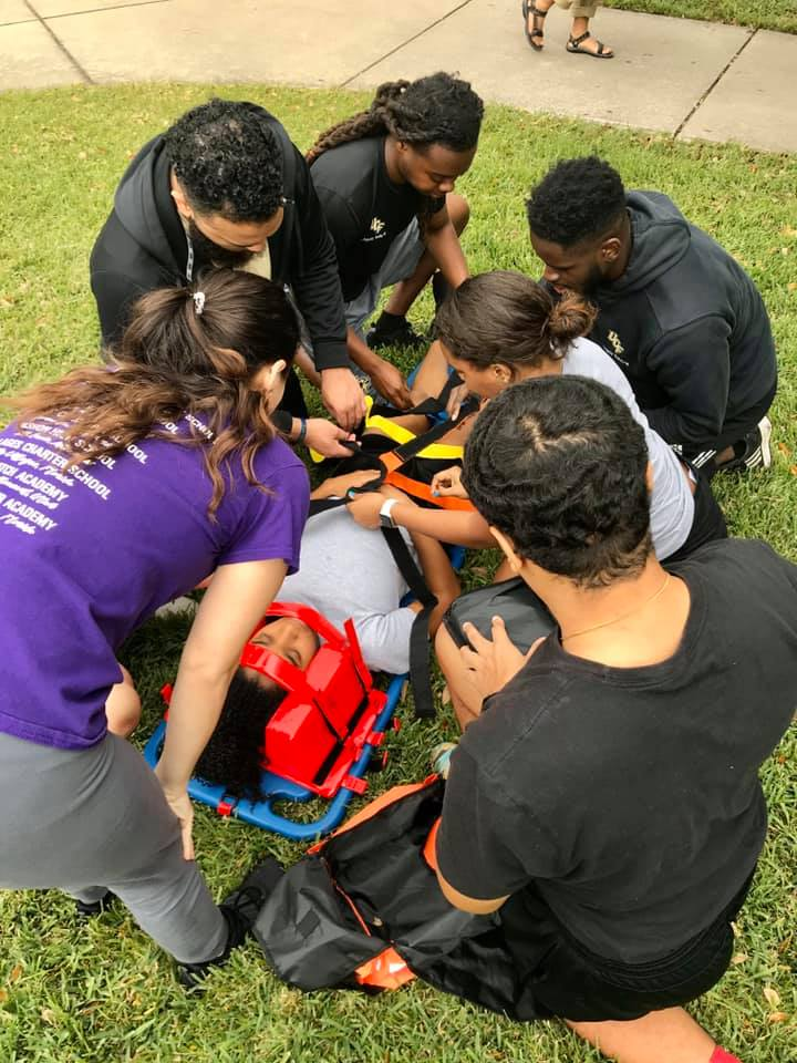 Athletic Training Students Prepare To Be First-Responders