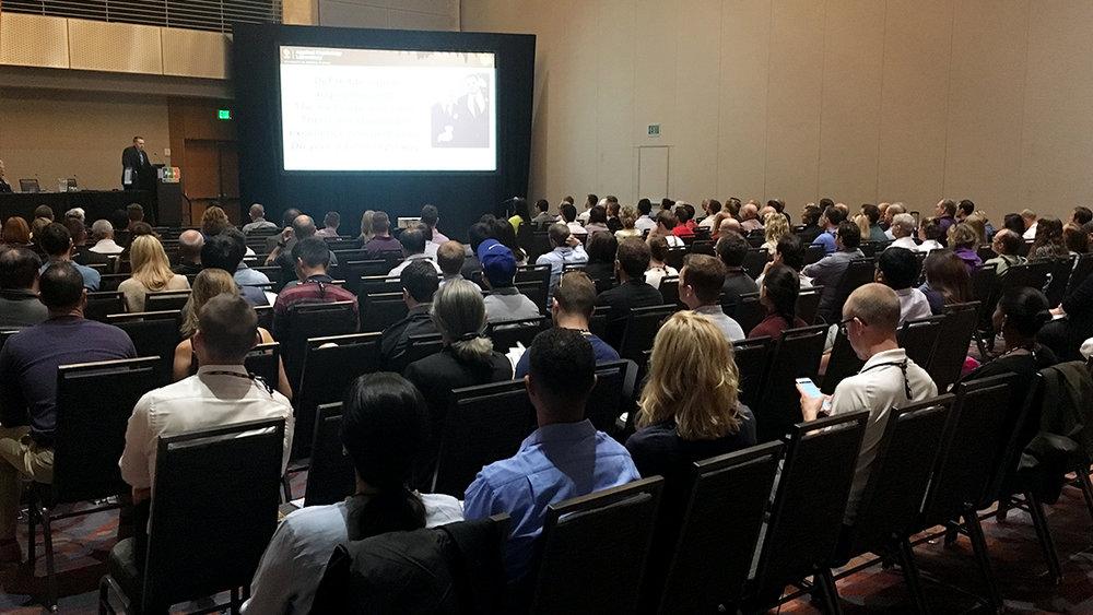 Dr. Stock gives presentation at ACSM in Denver, CO