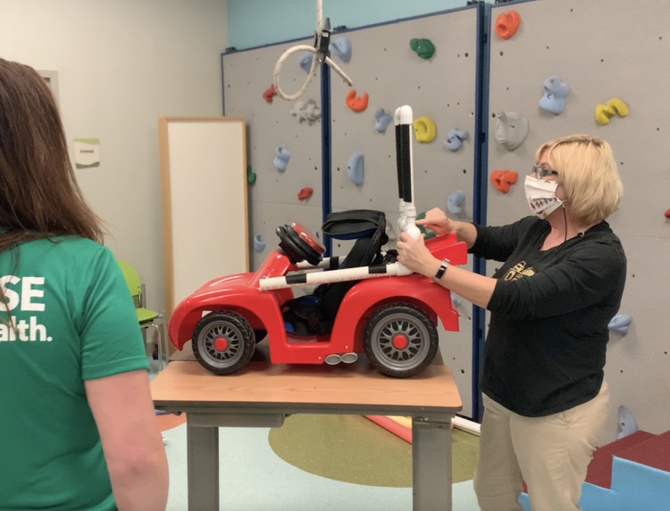 Orlando Health, UCF Partner to Provide Specialized Toy Cars for Kids with Limited Mobility