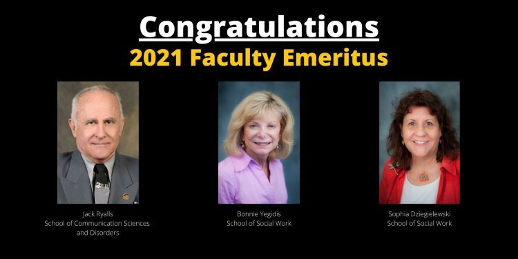 New Emeritus Faculty Honored