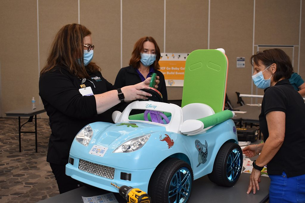 Go Baby Go! Partners with Engineering and Computer Science Seniors to Enhance Toy Cars as Mobility Devices