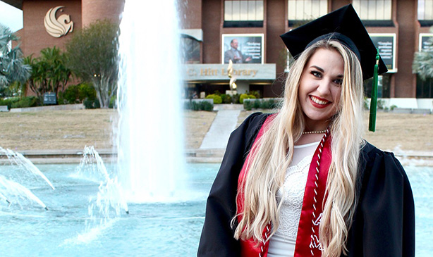 Health Sciences Alumna Shares How She Discovered Her Path