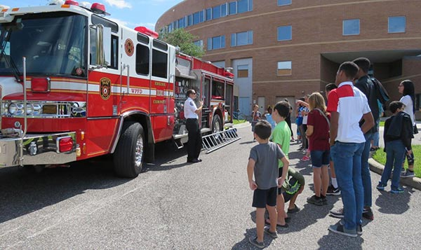UCF CARD, PALS Holds Safety Event for Students with Autism Spectrum Disorder