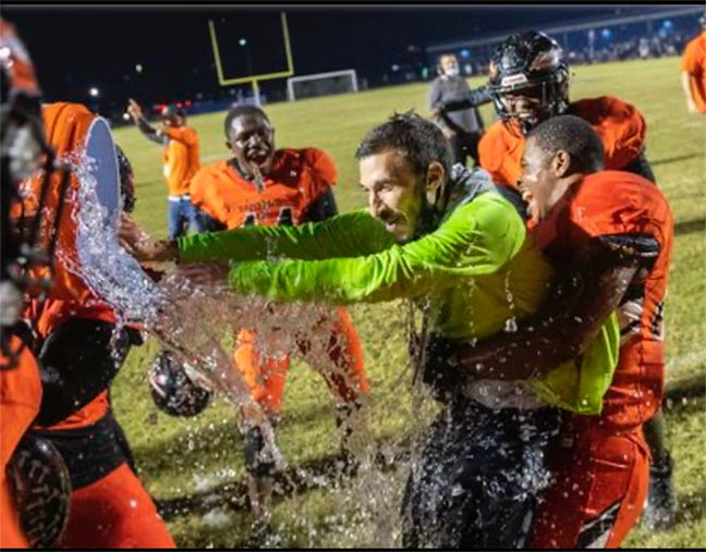 Kinesiology Alumnus Named Florida HS Football Coach of the Year
