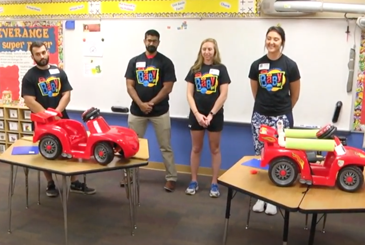 UCF Go Baby Go! at Sabal Point Elementary (Video)
