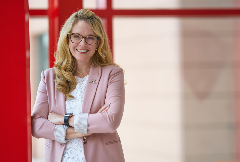 Alumni Spotlight – Braveheart of Hope: Erica Sirrine, director of social work at St. Jude Children's Research Hospital