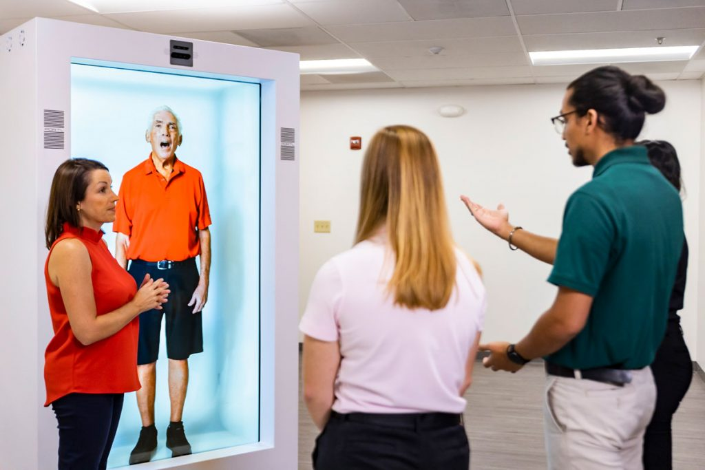 New Lifelike Hologram Tech Expands UCF Students' Skills in Patient Care