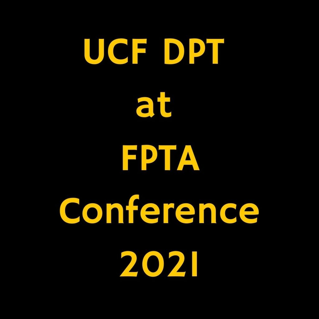 UCF DPT Faculty and Alumni Present at FPTA Conference