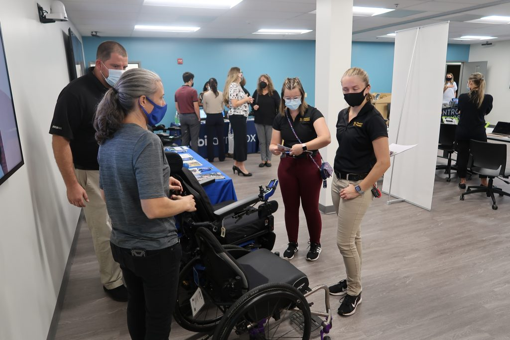 Inaugural UCF Assistive Technology Fair Connects Students and Community Members to Resources That Improve Lives